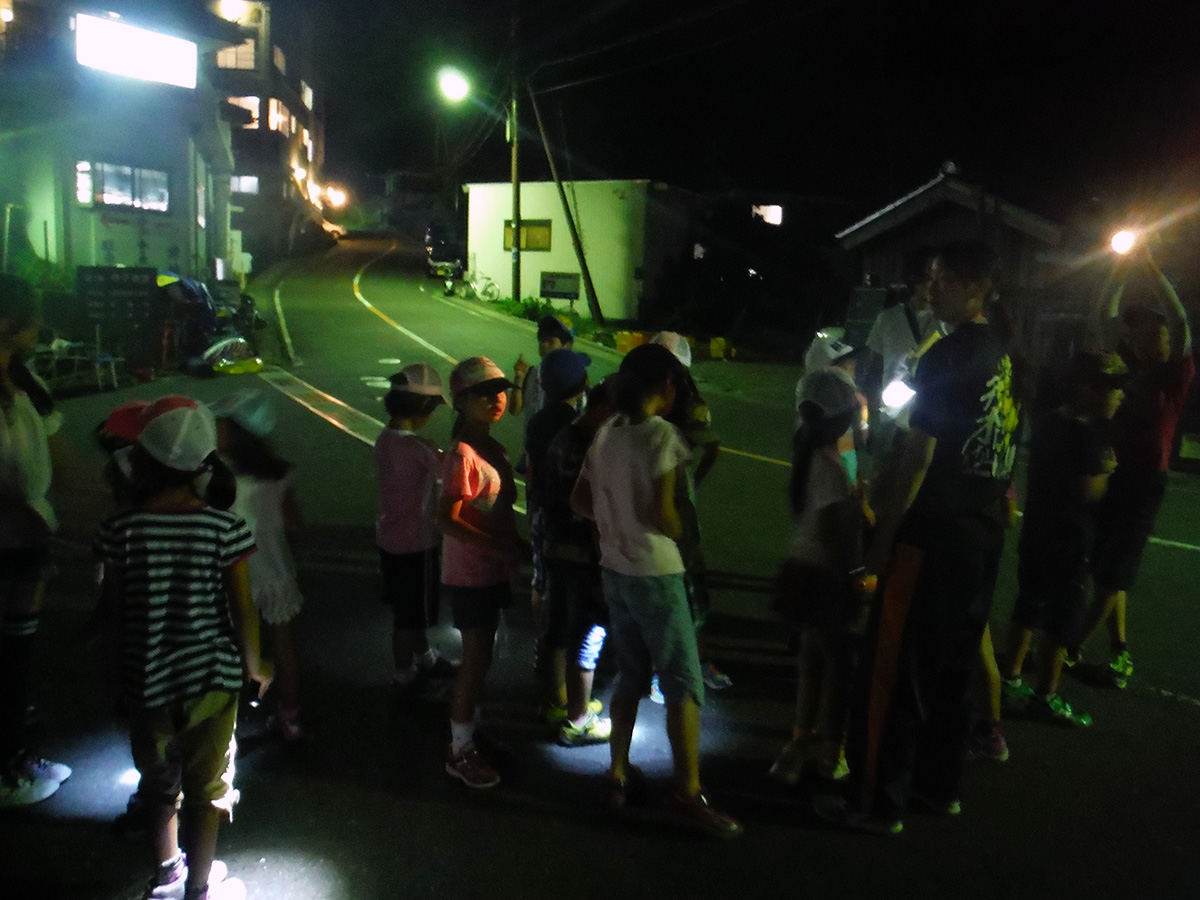 若狭路まるごとキャンプ/活動/ナイトハイク